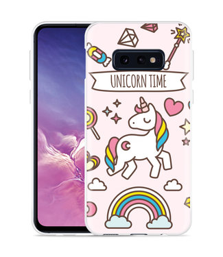 Just in Case Galaxy S10 Lite Hoesje Unicorn Time