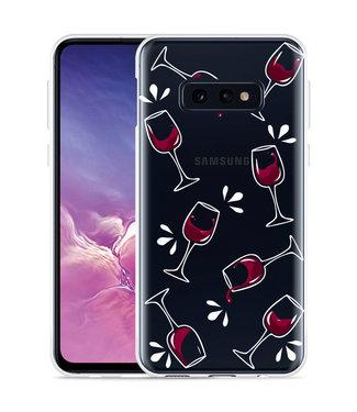 Just in Case Galaxy S10 Lite Hoesje Wine not?