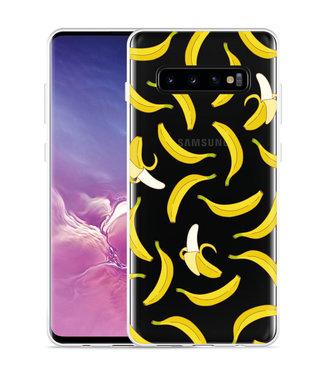 Just in Case Galaxy S10 Plus Hoesje Banana