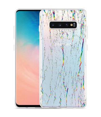 Just in Case Galaxy S10 Plus Hoesje Color Splatters