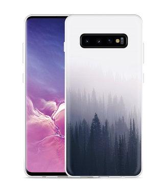 Just in Case Galaxy S10 Plus Hoesje Dark Forest