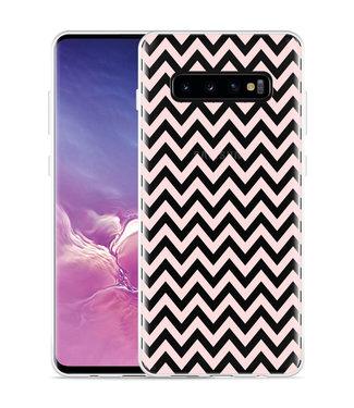 Just in Case Galaxy S10 Plus Hoesje Wavy Pink