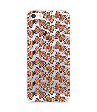 Just in Case iPhone 5/5S/SE Hoesje Butterflies