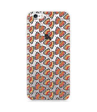Just in Case iPhone 6 Plus/6S Plus Hoesje Butterflies