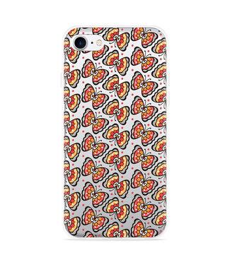 Just in Case iPhone 7 Hoesje Butterflies