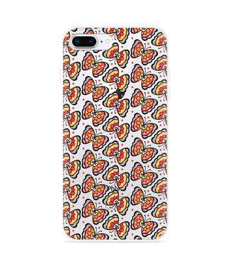 Just in Case iPhone 8 Plus Hoesje Butterflies