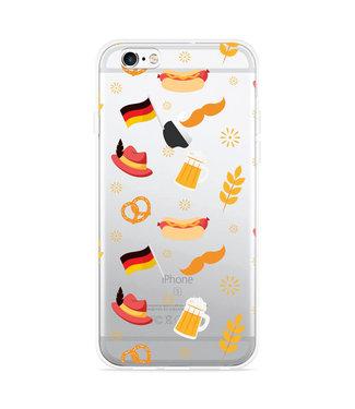 Just in Case iPhone 6 Plus/6S Plus Hoesje Duits Patroon