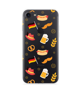 Just in Case iPhone 7 Hoesje Duits Patroon