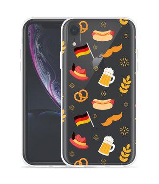 Just in Case Apple iPhone Xr Hoesje Duits Patroon