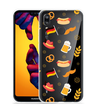 Just in Case Huawei P20 Lite Hoesje Duits Patroon