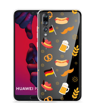 Just in Case Huawei P20 Pro Hoesje Duits Patroon