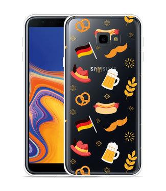 Just in Case Galaxy J4 Plus Hoesje Duits Patroon
