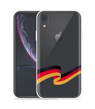 Just in Case Apple iPhone Xr Hoesje Duitse Vlag
