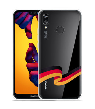 Just in Case Huawei P20 Lite Hoesje Duitse Vlag