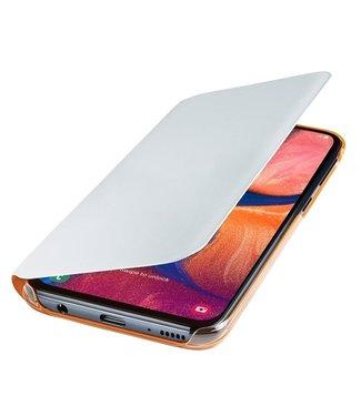 GSM Westland Samsung Galaxy A70 Wallet Cover (White)