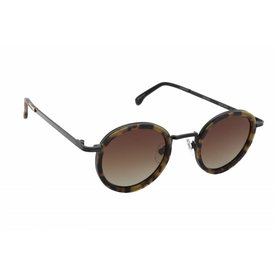 > Komono Sunglasses Komono The Clovis - Tortoise Black - 45-25