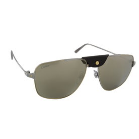 > Cartier Sunglasses Cartier CT0037S - 003 - 56-16