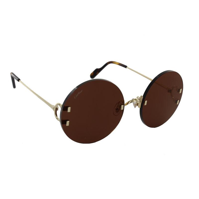 > Cartier Sunglasses Cartier CT0152S - 002 - 56-20
