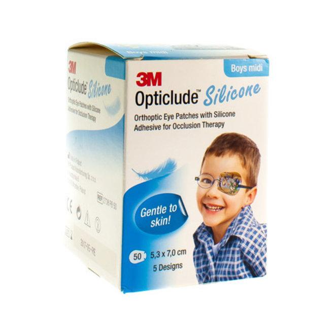 3M Opticlude Silicone - Boys Midi (50)