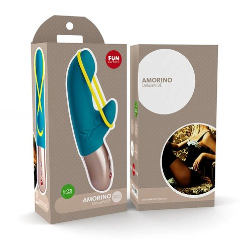 Fun Factory Fun Factory Amorino rechargeable vibrator small - 17.5 x 2.7 cm