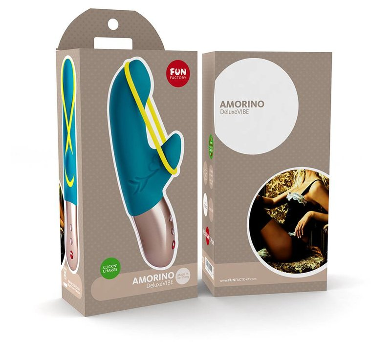 Fun Factory Amorino rechargeable vibrator small - 17.5 x 2.7 cm