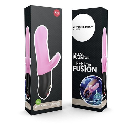 Fun Factory Fun Factory BiStronic Fusion pulsator with clitoral vibrator - 21.7 x 3.9 to 4.8 cm