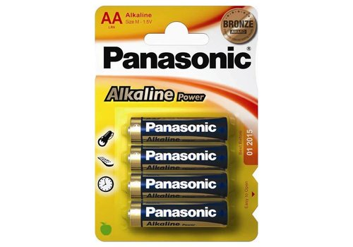 AA-batterijen 4 stuks