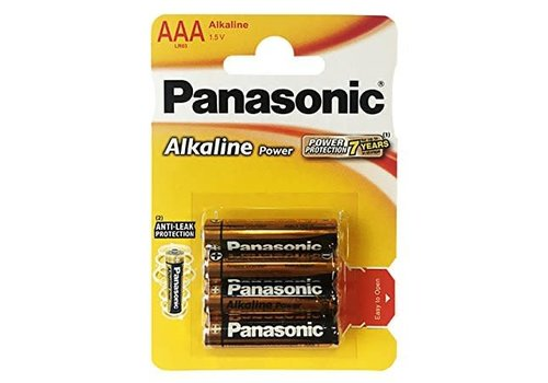 AAA-batterijen 4 stuks