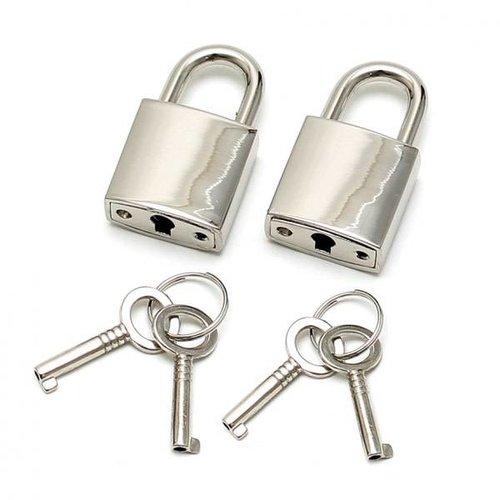 Rimba Padlocks with keys (per pair)