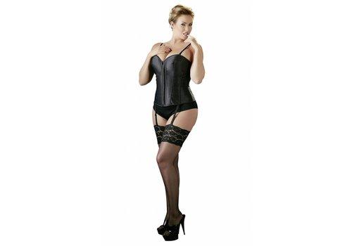 Cottelli Collection Taille Plus noir Corset avec bretelles