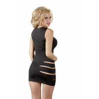 Sexy black dress with cut-outs