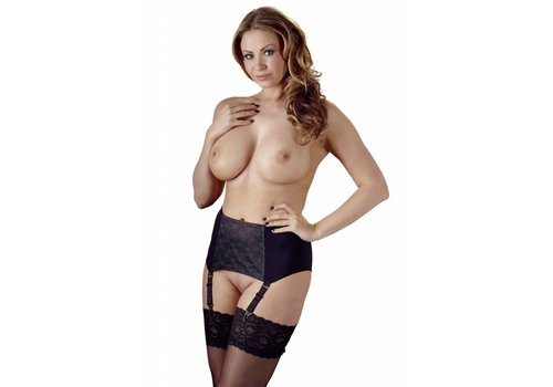 Cottelli Collection Plus size wide suspender