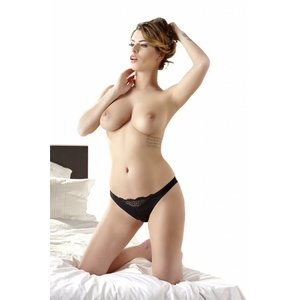 Cottelli Collection noir Sexy Rio chaîne