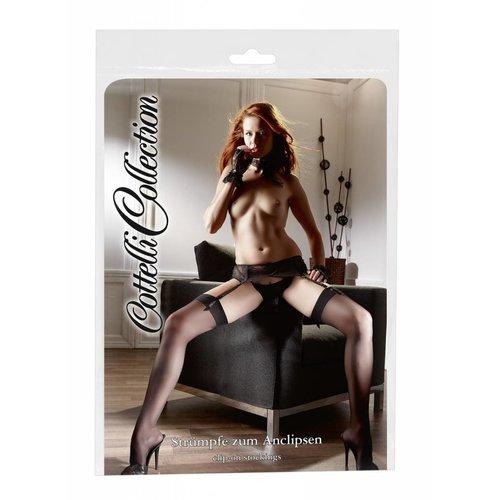 Cottelli Collection Stockings with molded foot