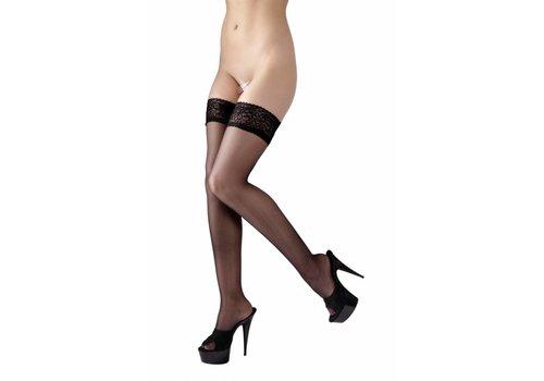Cottelli Collection hold-up noir avec top en dentelle