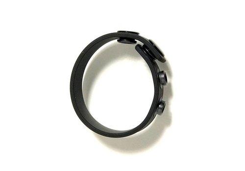 Boneyard Cock Bracelet en silicone - cockring réglable