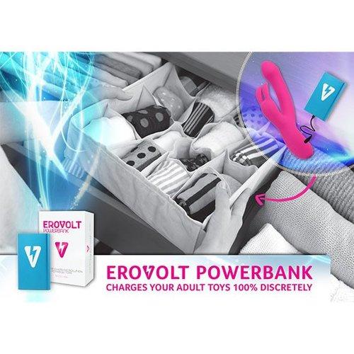 EroVolt power bank (8000 mAh) - discreet charging sex toys