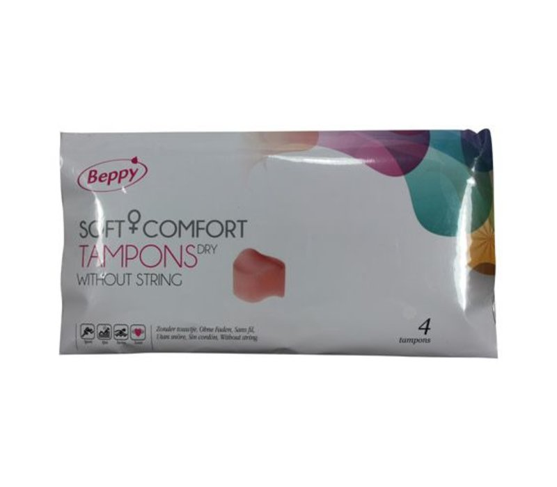 Beppy Dry Tampons - Sex with tampon