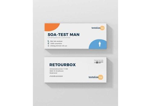 TestalizeMe SOA Test de Man - 100% Anonyme