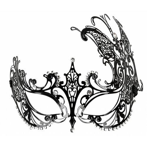 Cottelli Collection Ornamental Mask - metal