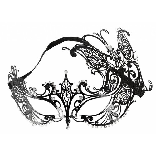 Cottelli Collection Cottelli Ornamental Mask - metal