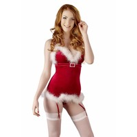 Christmas Costume with suspenders