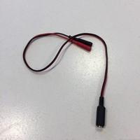 Electrosex verloopstekker - 2,5mm female naar 2x 2mm