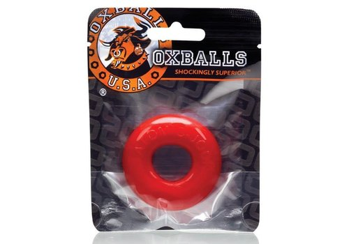 Oxballs Do-Nut 2 cock ring - Red