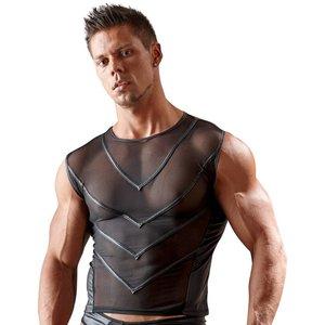 Svenjoyment chemise semi-transparent mouillé