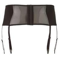 Black Suspender Belt with lace