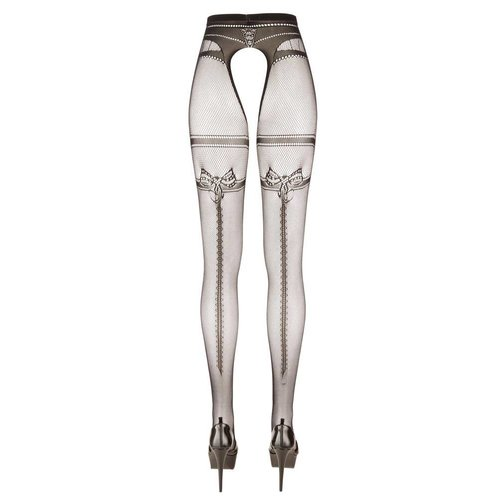 Cottelli Collection Panty met open kruis en naad