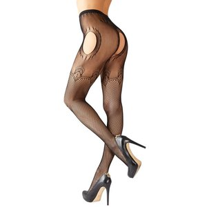 Cottelli Collection Fishnets with open cross-S-L