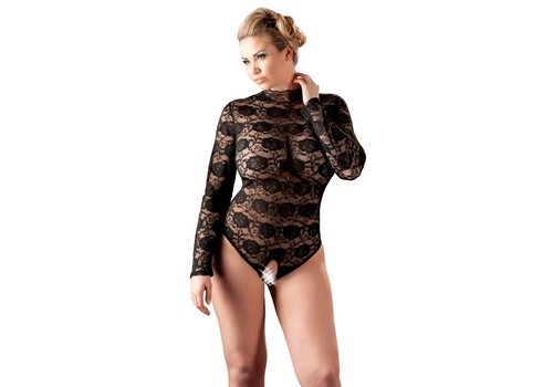 Cottelli Collection Crotchless lace body