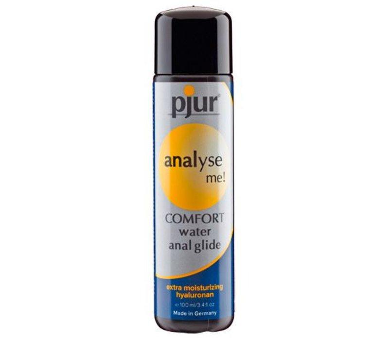 Analyser moi - l'eau Confort Anal Glide